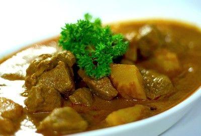 Cordero al curry