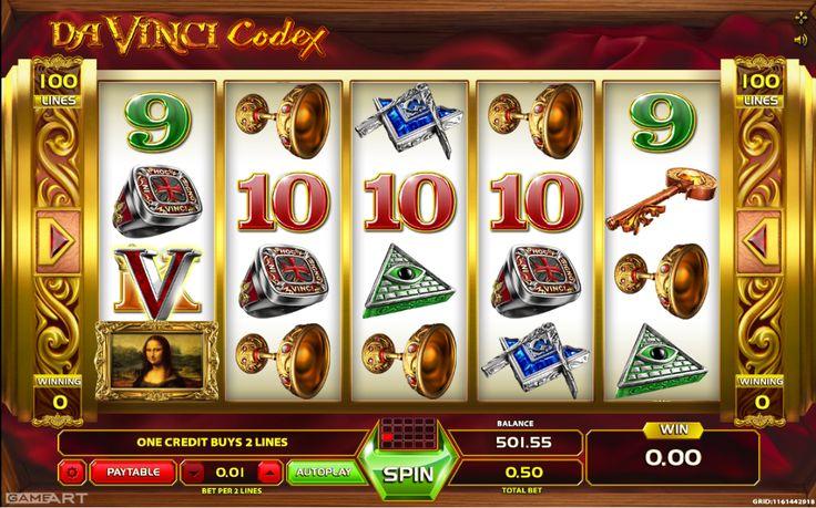 Davinci Codex - http://slot-machines-gratis.com/slot-machine-davinci-codex-gratis-online/