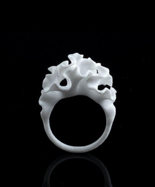 Cnidaria 3D-Printed Ring