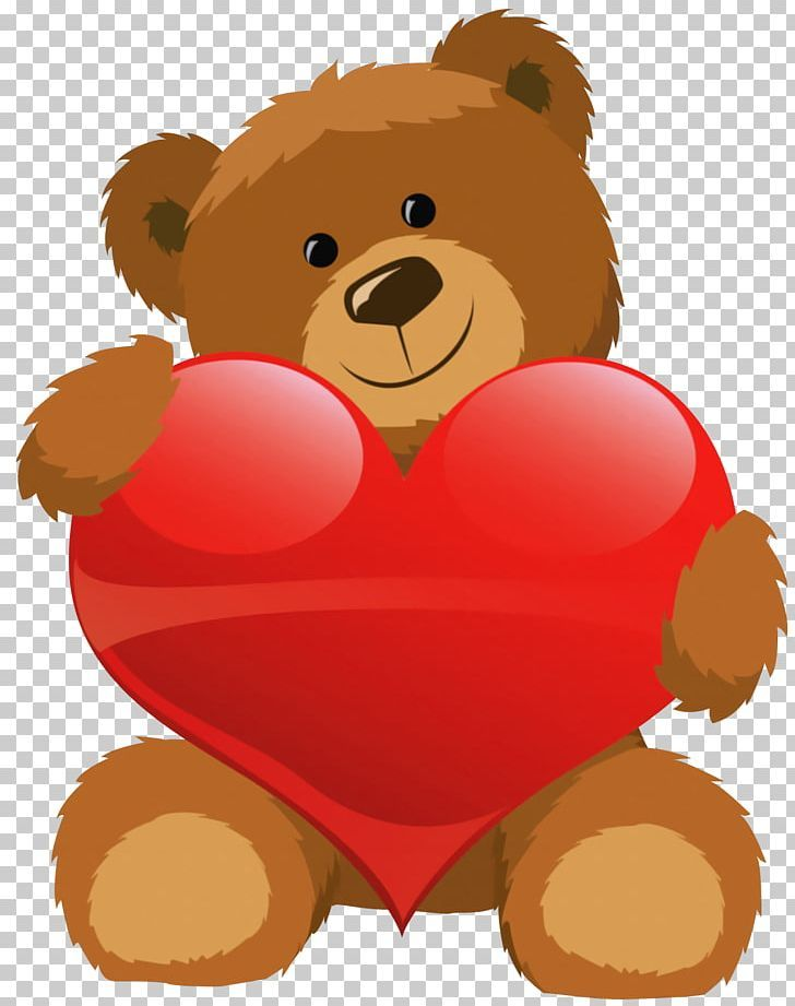 Teddy Bear Valentine S Day Heart Png Animals Bear Carnivoran Clip Art Cuteness Teddy Bear Drawing Valentine Cartoon Bear Valentines