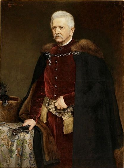 Portrait of Leona Sapiehy 1882