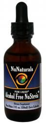 Pure Liquid™ Alcohol Free NuStevia™ Glass Bottle 2 oz | NuNaturals, Inc. - Company based in Eugene, OR