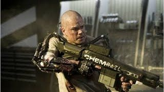 ELYSIUM - Official Trailer - In Theaters August 9th, via YouTube.