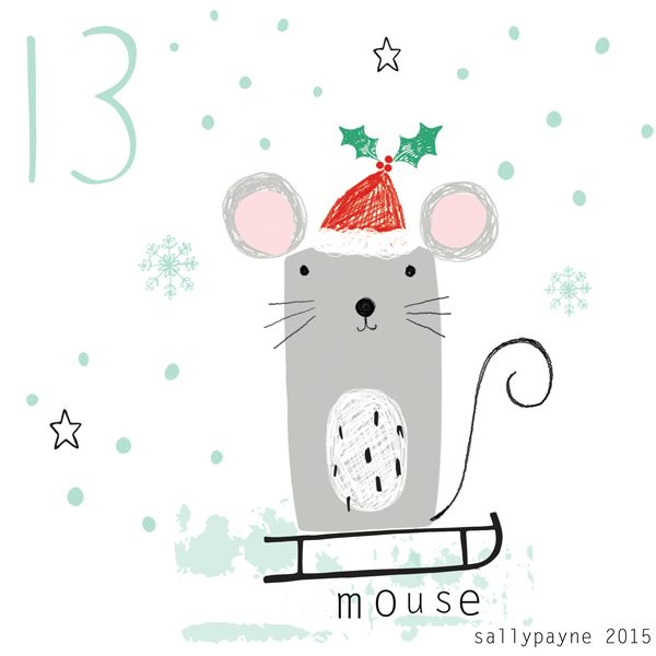 13mouse - Illustrations by Sally Payne