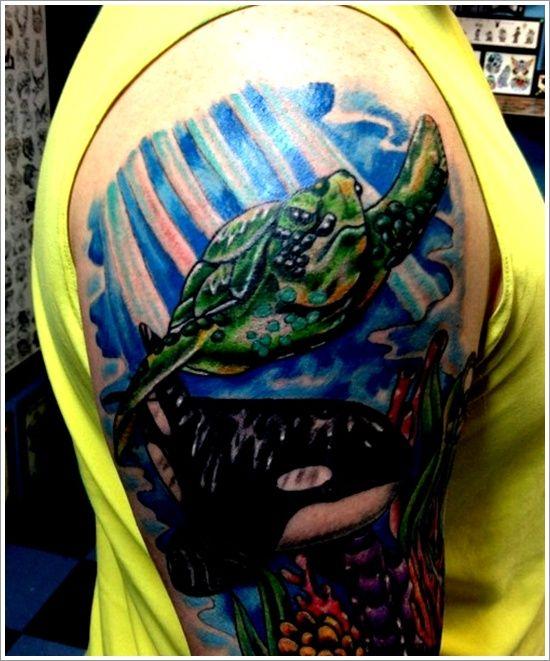 Best 25+ Turtle tattoo designs ideas on Pinterest | Turtle tattoos, Sea turtle tattoos and Cute ...