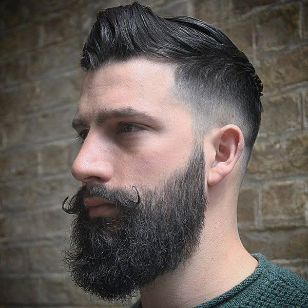 Best 25 Haircuts With Beards Ideas On Pinterest: 780 Best Images About Fade HairCuts With Beard On