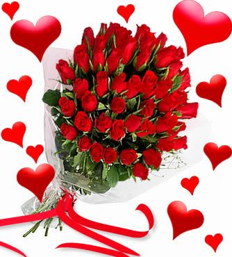 Valentine S Day Flowers For Her Valentines Day Flowers And Tell