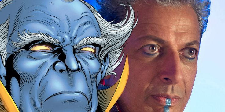 Thor 3 Director Explains Why Jeff Goldblum's Grandmaster Isn't Blue
