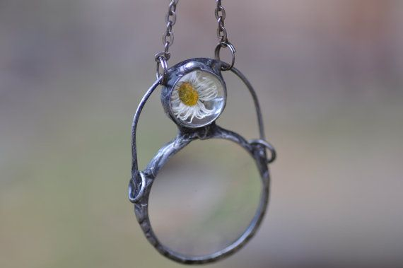 loupe pendant mother gift magnifying glass necklace by zolanna