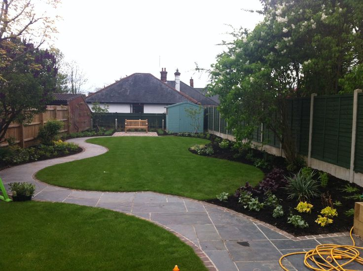 20 best Small Garden ideas north facing images on ...