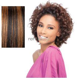 Thu Sep 1, 2016 - #7: Velvet Retro Curl Short 3PCS - Color C1B/30 - Remi Weaving