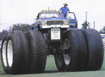 Big Daddy Big Foot. Biggest truck in the world?