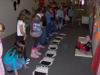 Polar Bear Paw Measurement Activity