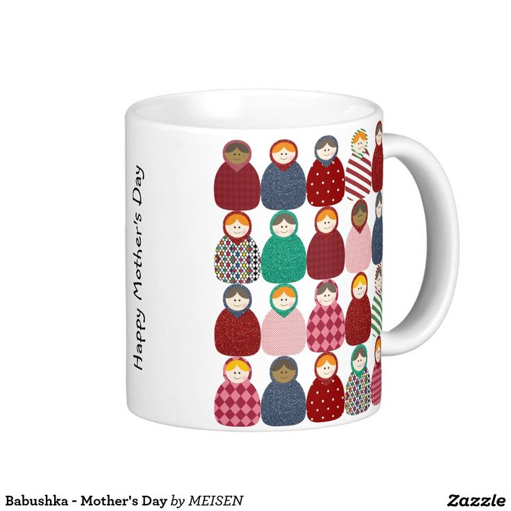 Babushka - Mother's Day Basic White Mug