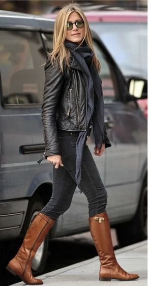 Would love a black leather jacke to add to my fall wardrobe.