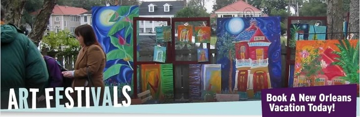 Looking for something to do in New Orleans in the Fall?  Art for Arts Sake- an Art Festival on Magazine St. and the Warehouse Arts District!