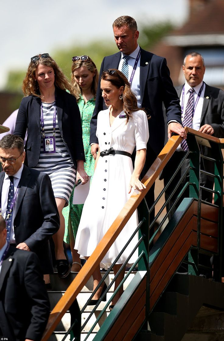 Kate Middleton makes surprise appearance at Wimbledon