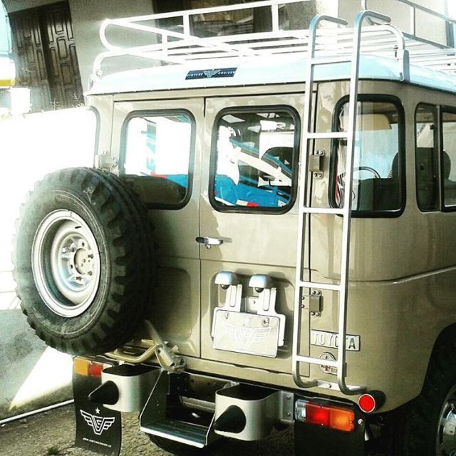 Just Finished Our Latest Full Nut And Bolt Frame Off Restoration Of This 1979 Bj40 By The Vintage Cruiser Co In 2020 Fj40 Landcruiser Cruisers Fj40