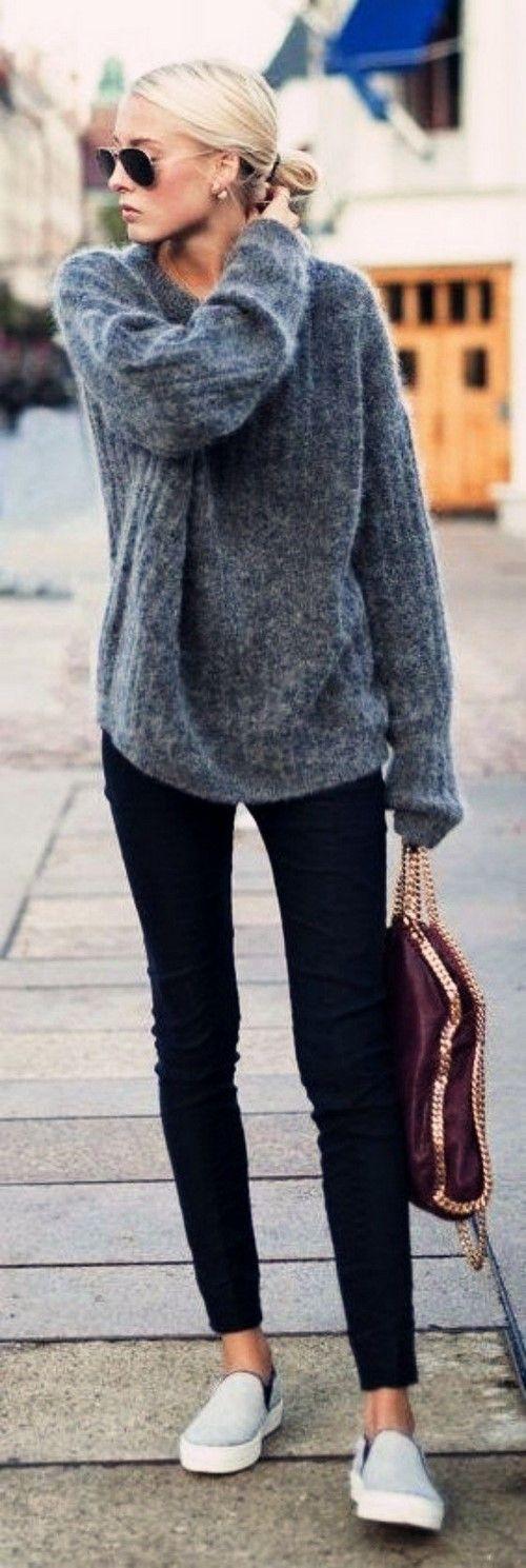 Хотите модный свитер? Красивые и модные свитера 2018-2019 - фото обзор новинок. Вязаные свитера, модные женские свитера осень-зима. С чем носить свитер - идеи.