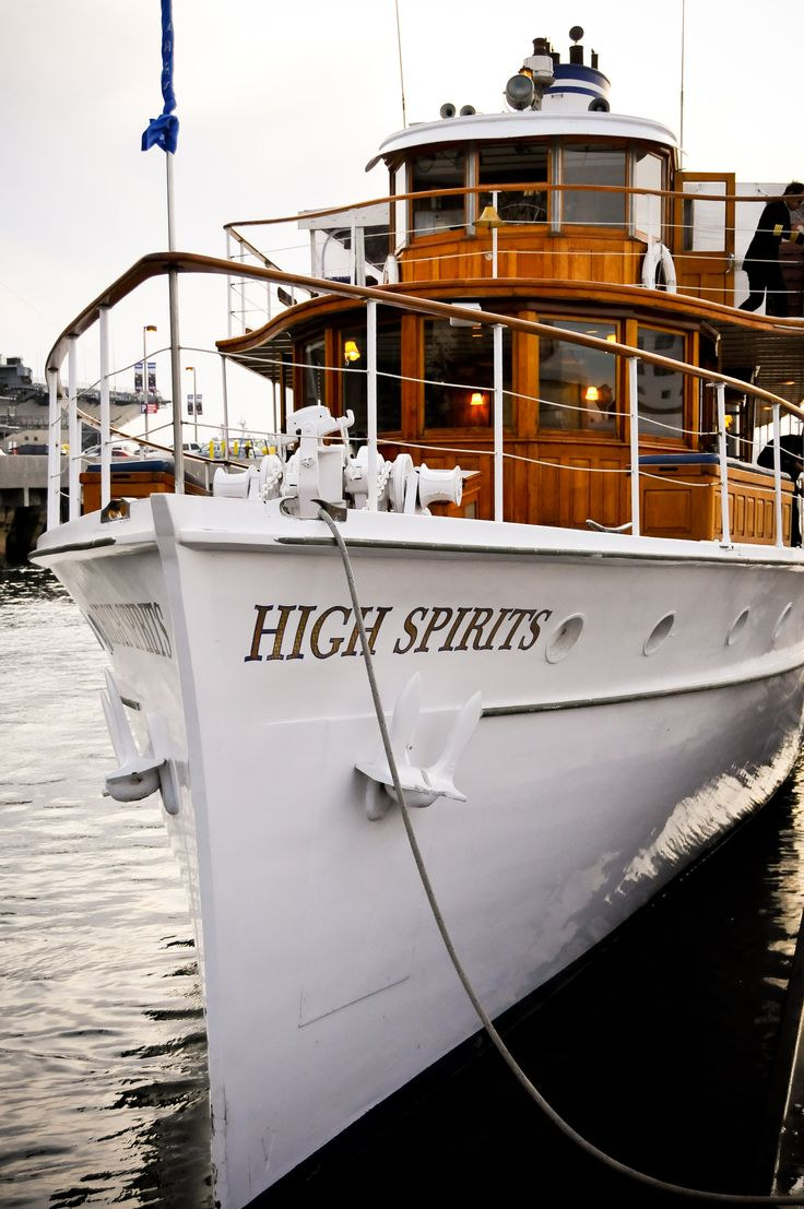 High Spirits Yacht Upper Deck Horner Cruises Events San Go Ca Nautical Seaside Theme Hosted Wedding Special Event