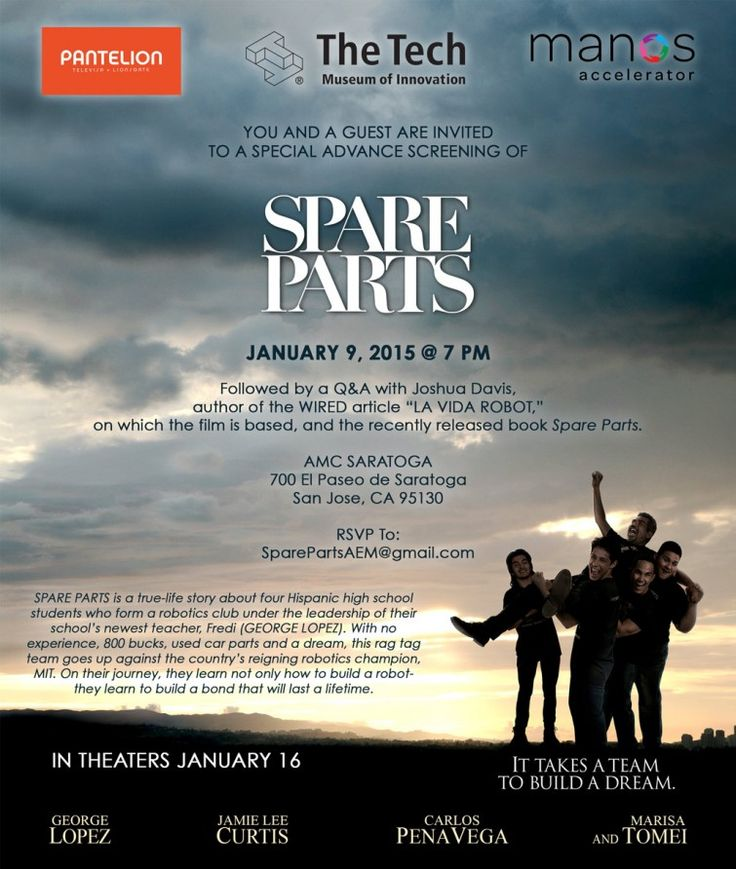 Spare Parts 2015 HD Movie Torrent Download