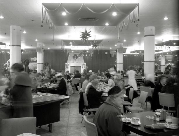 The Hudson,s Bay dining room, December 23, 1961.