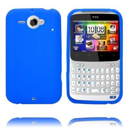 Soft Shell (Sininen) HTC ChaCha Silikonisuojus