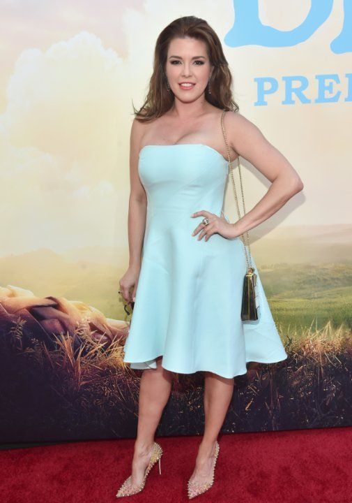Alicia Machado at The BFG (2016)