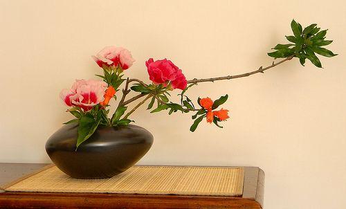 flower arrangements zen