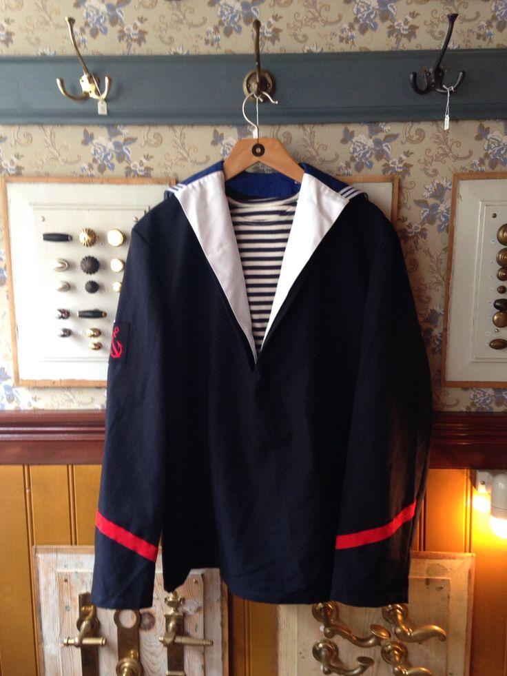 #sømandsjakke #tibberuphoekeren #smallshopkeeper #sailoroutfit #uniform #hoekeren