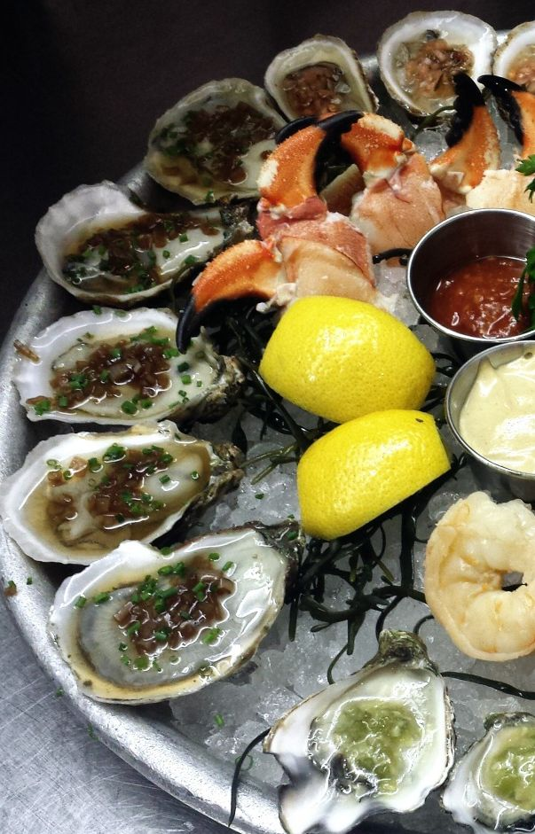 Mouthwatering seafood is always a good idea lure 39 s fish for Fish bar nyc