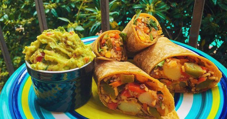 Fabulosa receta para Burrito Matahambre!!! (Vegan). VIDEO EN RECETA:   https://youtu.be/SDauIb4JvvI  En este receta preparo unos burritos ricos, suculentos, muy completos que además de saciar el apetito y dejar lleno, están riquísimos.