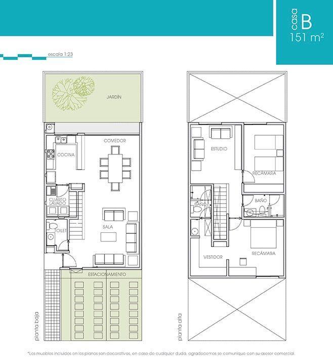 Favori Les 25 meilleures idées de la catégorie Plans de maisons étroites  CN27