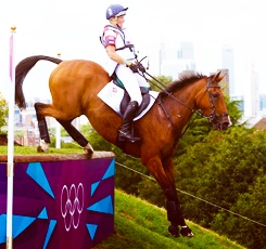 Team Great Britain - equestrian silver medalists! London 2012