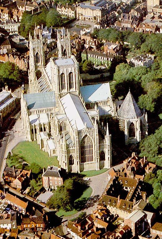 York Minster Cathedral - Go regularly when I'm visiting my folks.  York's history encompasses Romans, Vikings and Medieval so fab for History buffs.
