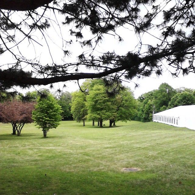 Love doing events at Estates of Sunnybrook! Just look at this scenery. This place is always a stress free event set up. Took a moment to breathe in the beauty before I left today.