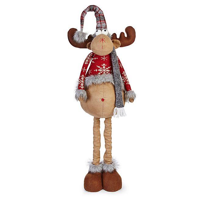Forêt enchantée Eugène le renne avec jambes extensibles H89cm