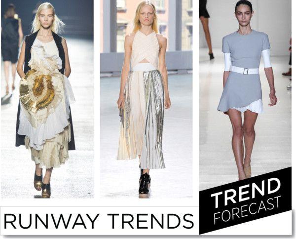 Pleats Please SS2014  http://www.sandrascloset.com/the-most-important-ss-2014-runway-trends/