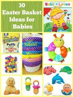 4970 best easter ideas for easter baskets images on pinterest 30 easter basket ideas for babies negle Gallery