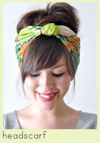 how to tie the perfect hair scarf  10 of the Best Hair   Styln Best Scarves For Hair