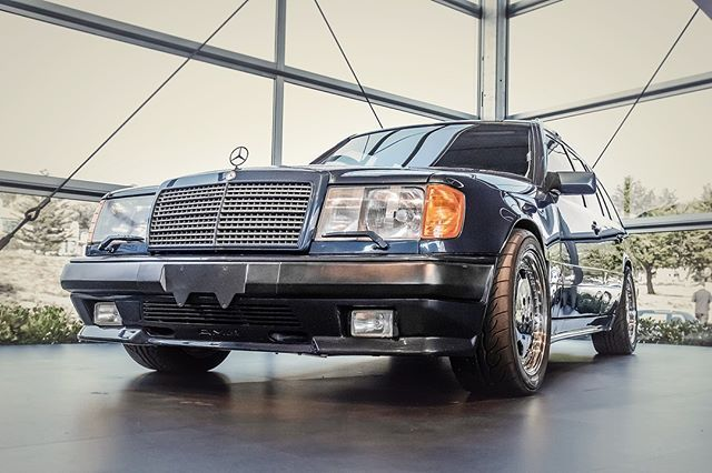 Hammer Time 1987 300 E Amg The Hammer Wagon At The Mercedes