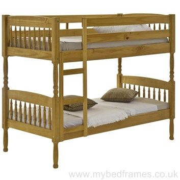 Milano #pine bunk bed - #bedroom #furniture