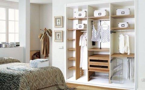 Tips para organizar el armario o clóset.