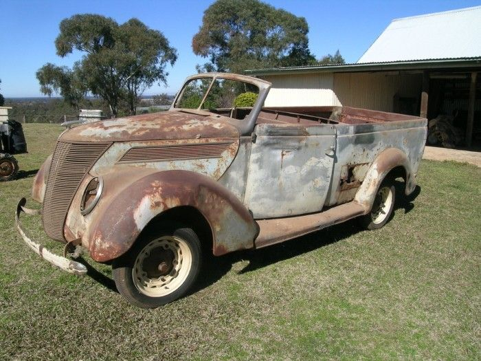 Hemmings+Find+of+the+Day+u2013+1937+Ford+Ute   A true Goddess!   Pinterest   Ford Rats and Cars & Hemmings+Find+of+the+Day+u2013+1937+Ford+Ute   A true Goddess ... markmcfarlin.com