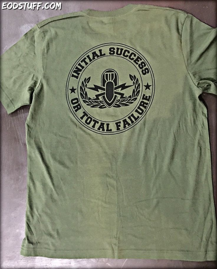 USMC EOD Shirt | Initial Success or Total Failure EOD T-Shirt with Buz – EOD Stuff by BombBullie  #eod #usmceod #marinecorpseod #buzzardbombandpick #initialsuccessortotalfailure