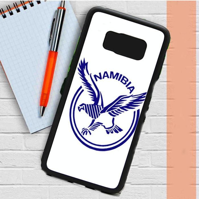 Namibia Logo White Samsung Galaxy S8 Plus Case Dewantary