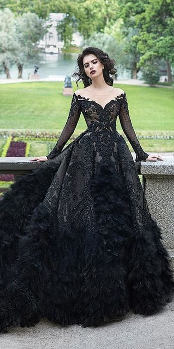 wedding dresses ball gown vintage with sleeves prom dress by MeetBeauty, $408.51…