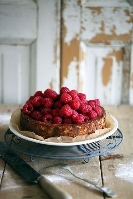 raspberry torte.