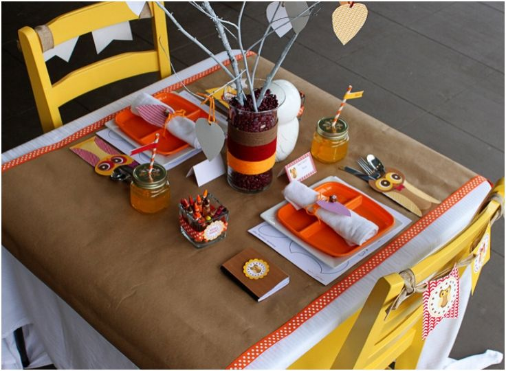 Top 10 DIY Thanksgiving Decorations For The Kids' Table - Top ...