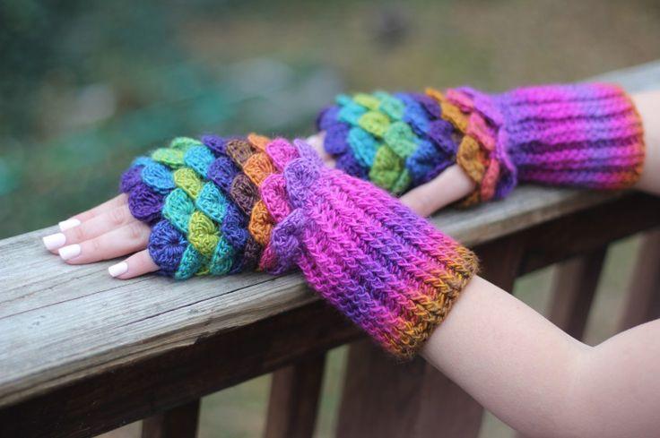 Mejores 95 imágenes de aaaa Crochet gloves en Pinterest   Guantes de ...